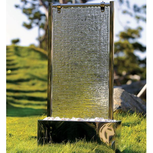 Wasserwand Glas