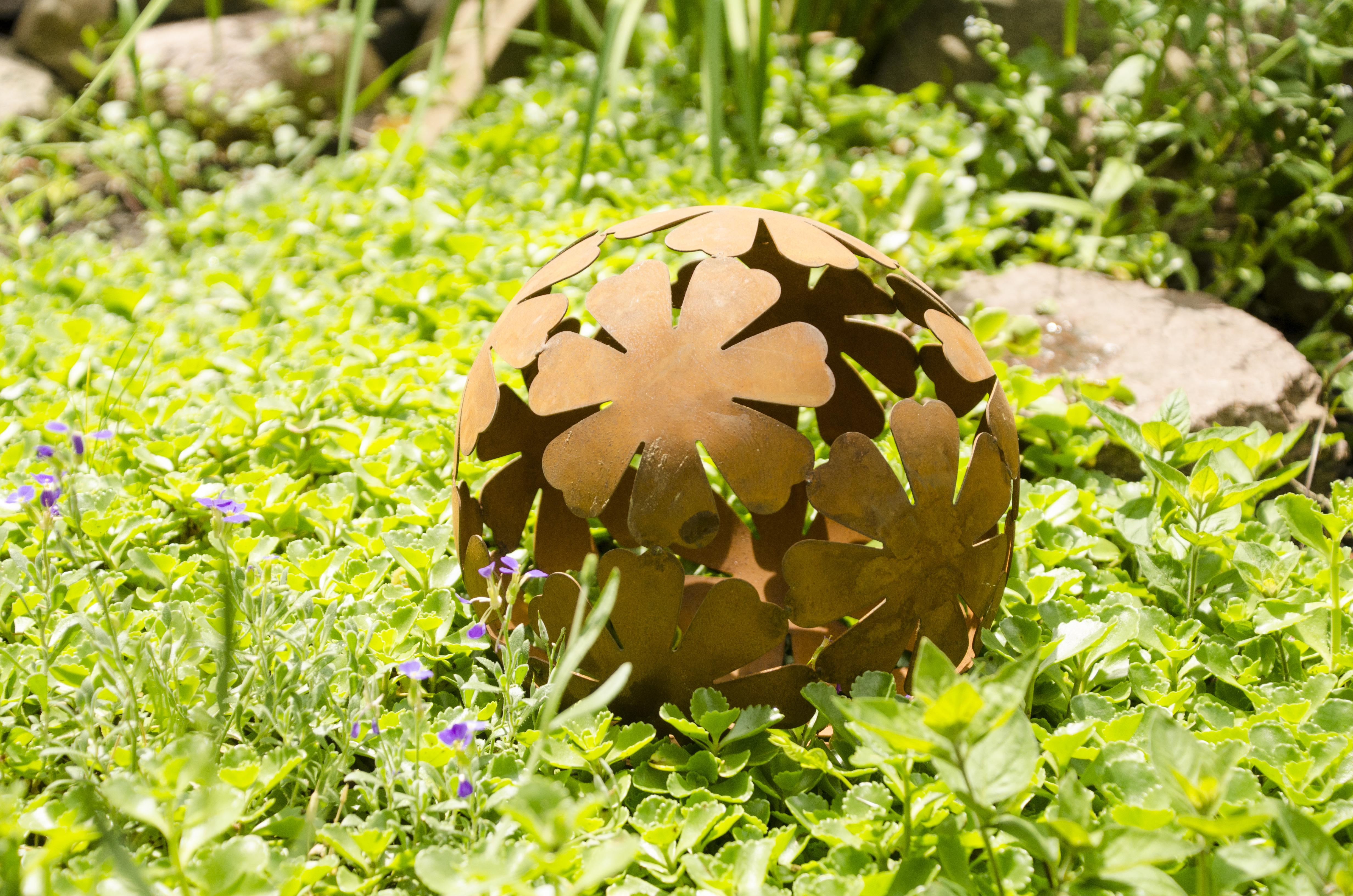 Gartendeko Cortenstahl
